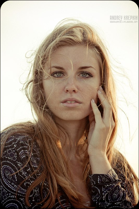 девушка, портрет, Андрей Крепких (Sound Wave)