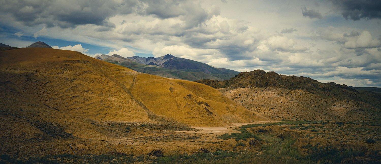 горы, холмы, глина, желтые, путешествие, алтай, Игорь Токарев
