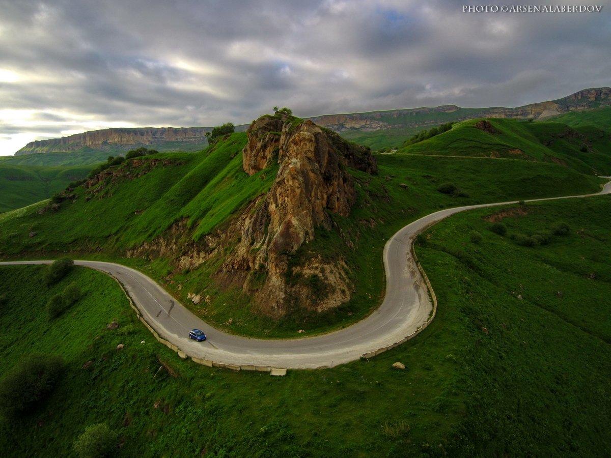 горы, предгорья, хребет, вершины, пики,,дрон, квадрокоптер,скалы, холмы, долина, облака, путешествия, туризм, карачаево-черкесия, северный кавказ, АрсенАл