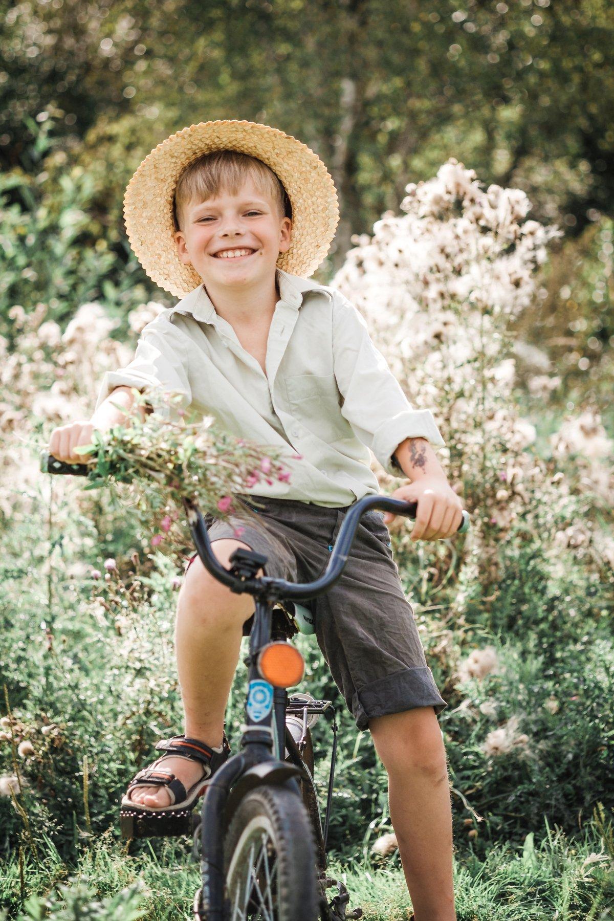лето bike happiness boy summer portrait annromanovska smile, Ann Romanovska
