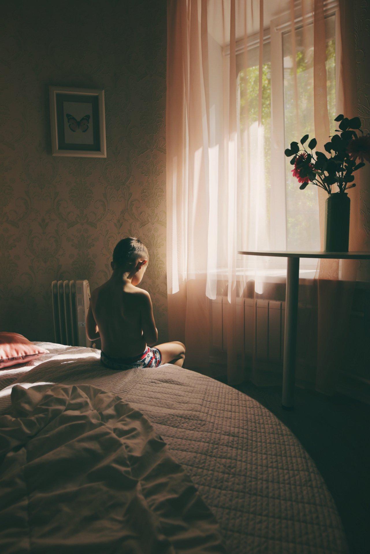 свет, детская фотография, Евгения Коригова