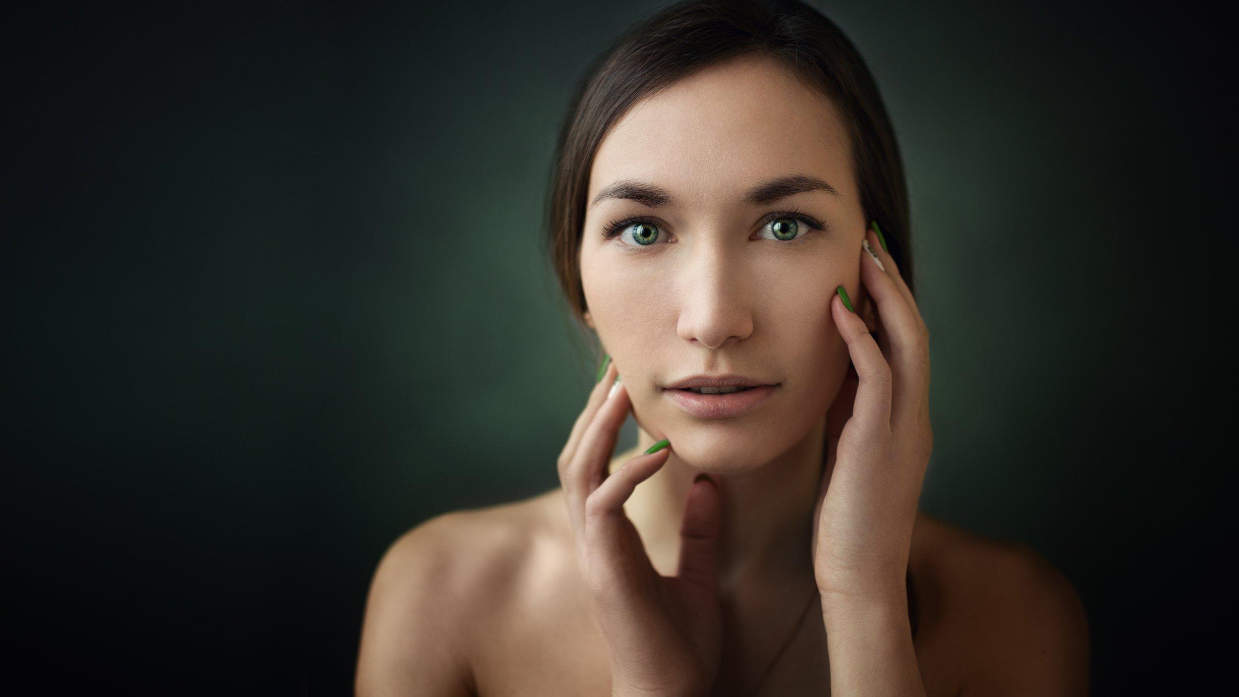 portrait, портрет, девушка, girl, beautyfull, eyes. hair, позирование, базаров, Михаил Базаров