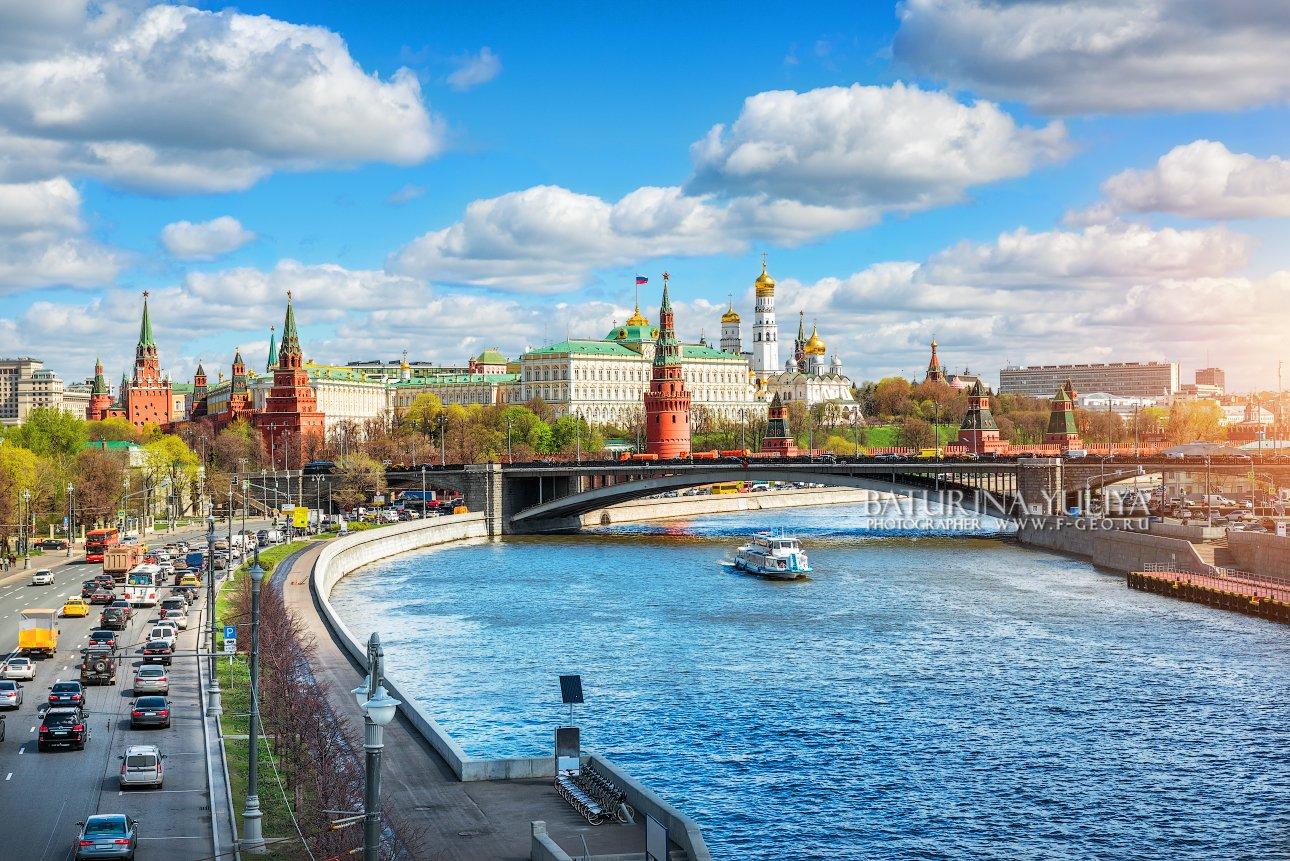 москва, транспорт, кремль, москва-река, Юлия Батурина