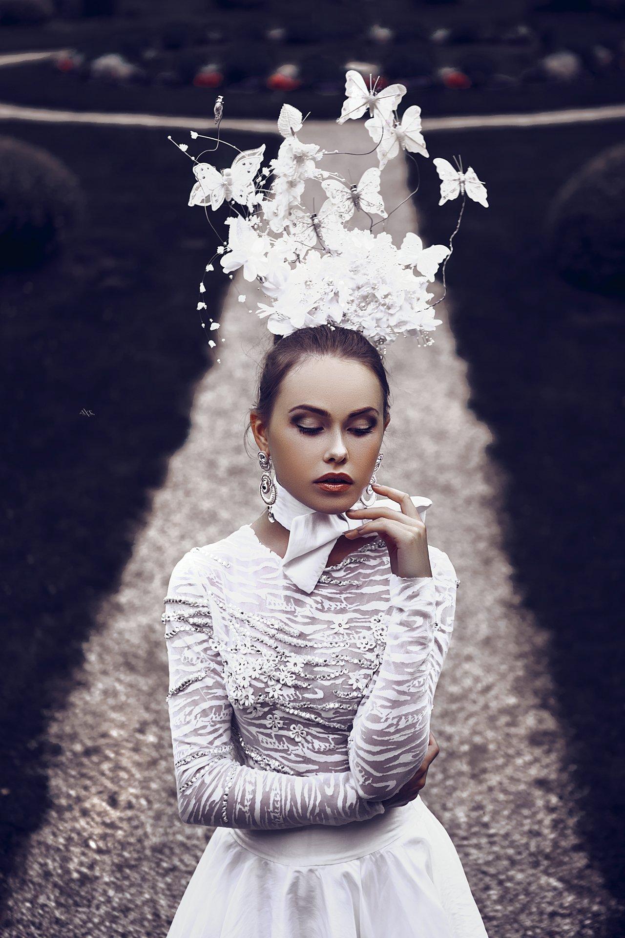 woman, portrait, dress, natural light, Руслан Болгов (Axe)