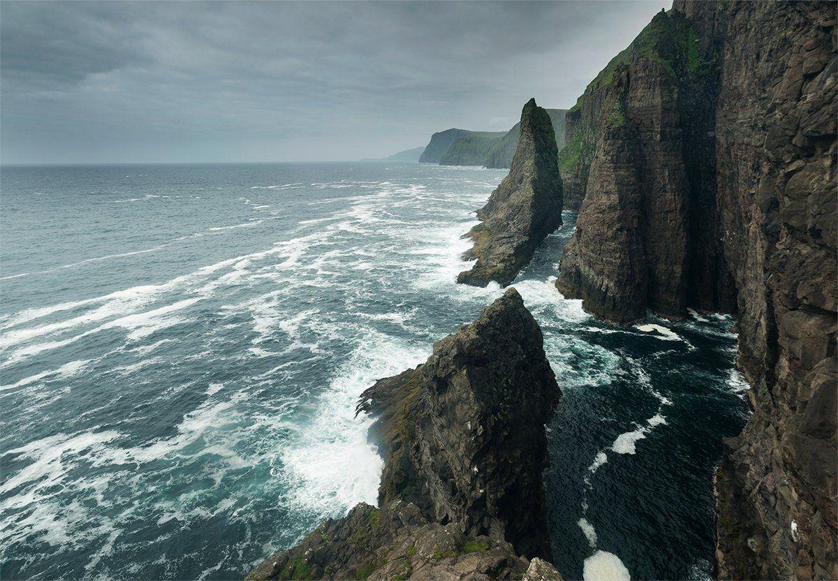 фарерские острова, атлантический океан, Казаков Петр