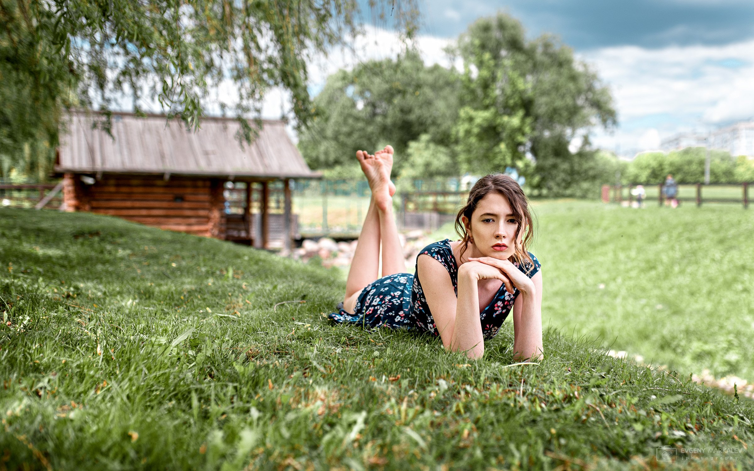 портрет, девушка, portrait, girl, planair, Евгений Маркалев