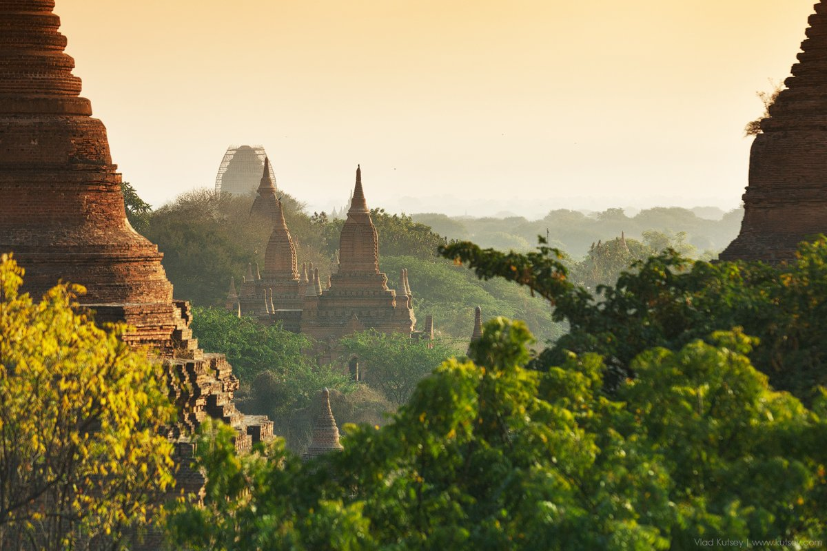 азия,баган,бирма,пагода,рассвет,Утро,храмы,пагоды,мьянма,Myanmar,Burma,pagoda,Bagan,pagan, Владимир Куцый (Vlad Kutsey)