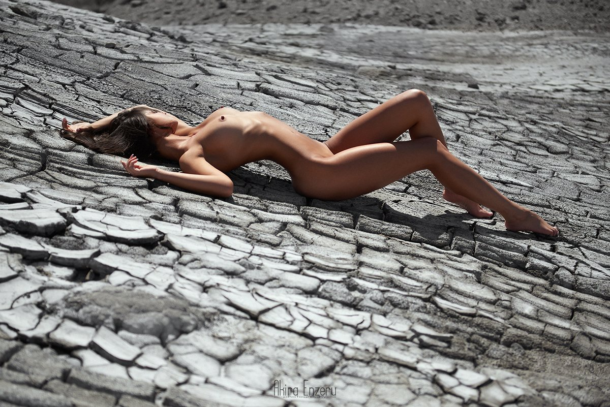 portrait, outdoor, nude,, Akira Enzeru