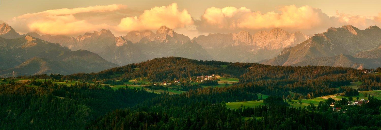 landscape, tatra, mountains, sunrise, Jakub