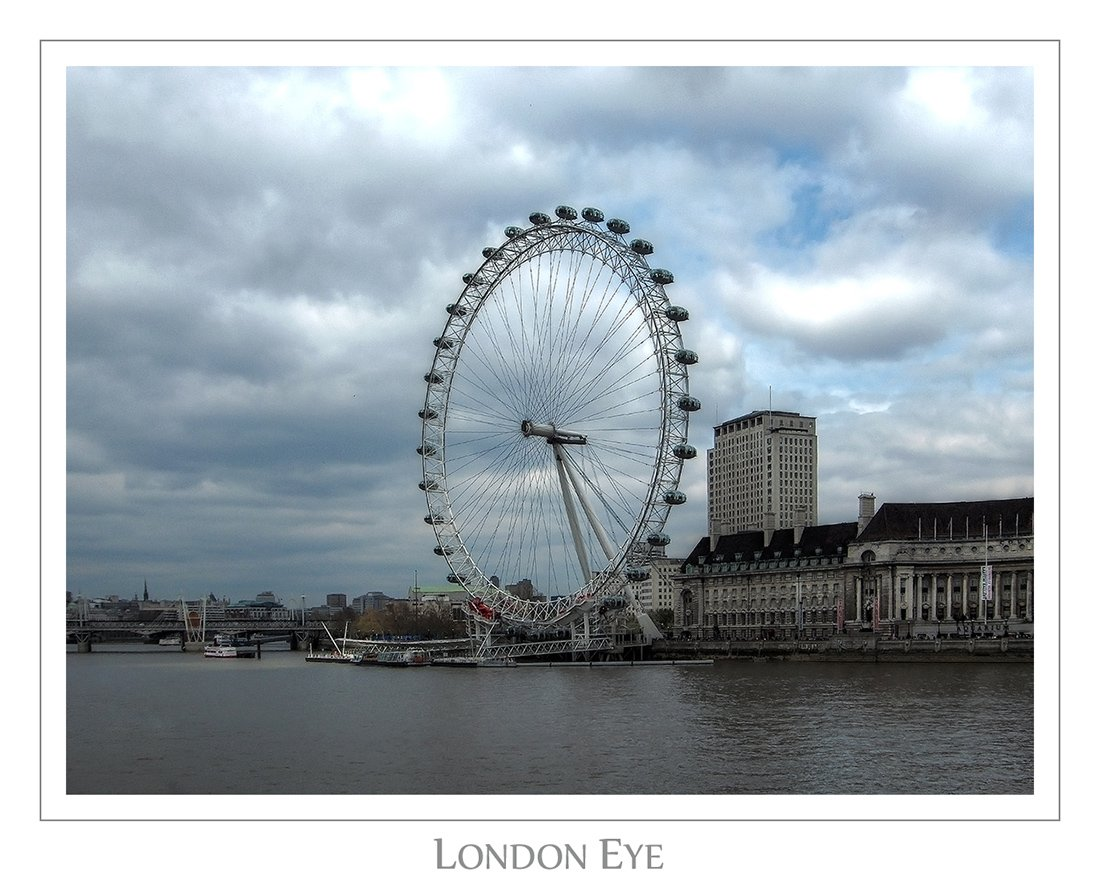london, eye, Vitaliy