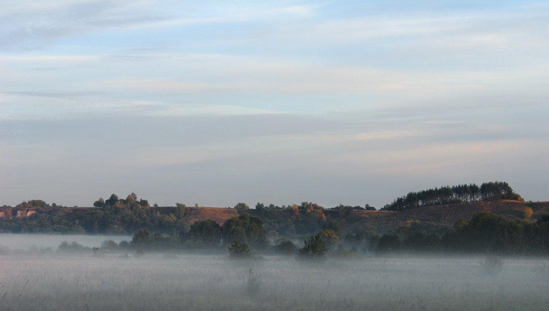 козлов артур, рассвет, восход, туман, небо, утро, пейзаж, Kozlov Artur
