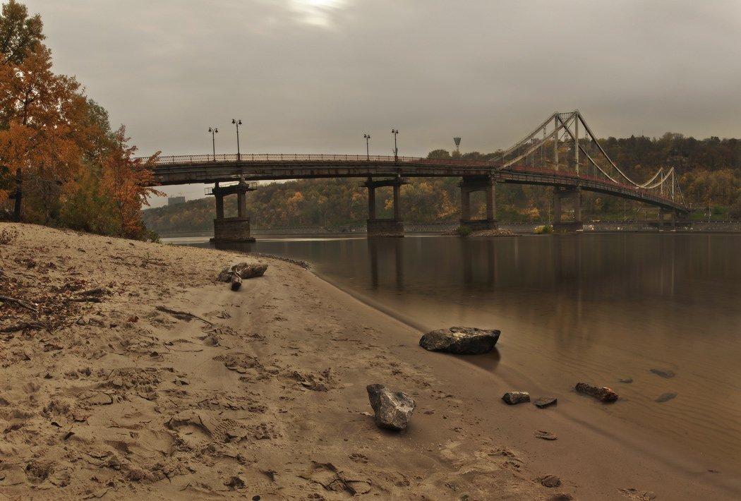 киев, пешеходный мост, nd 1000, Михаил Мочалов