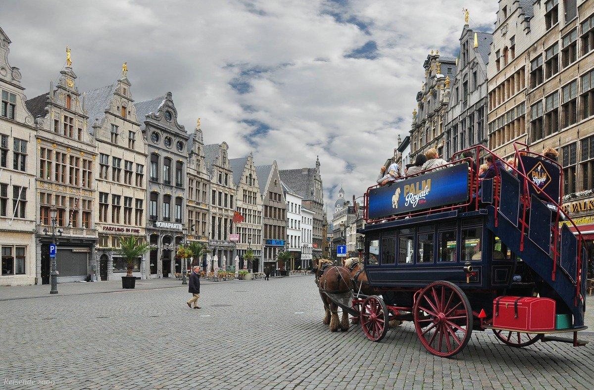 бельгия, антверпен, площадь, grote, markt, карета, Yakubovskiy Mikhail