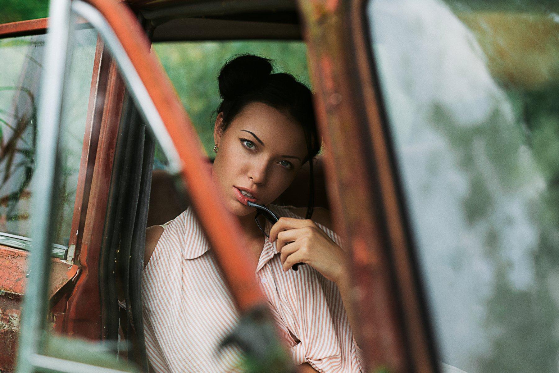 portrait,model,light,портрет,свет,авто,взгляд, Olegs Bucis