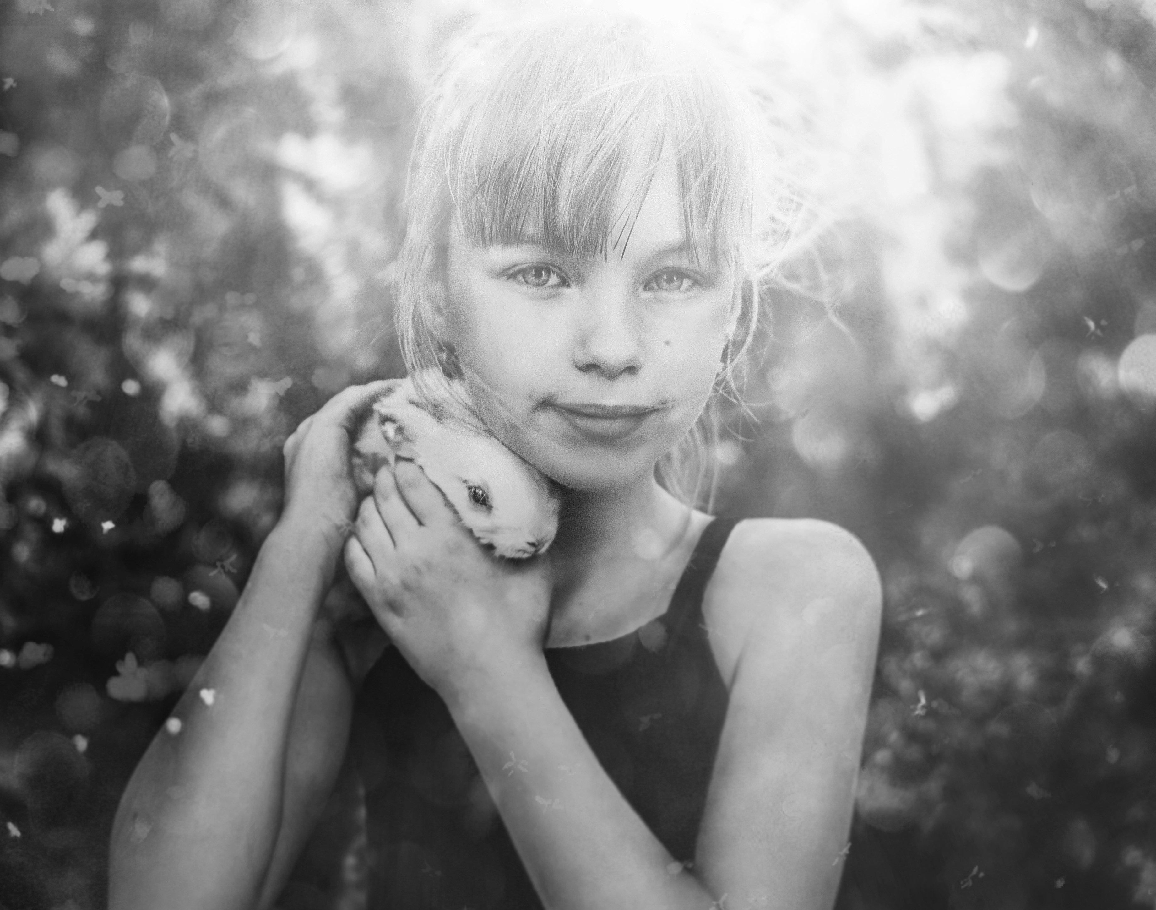 детство,ребенок,питомец, Мария Ивановна Буданова