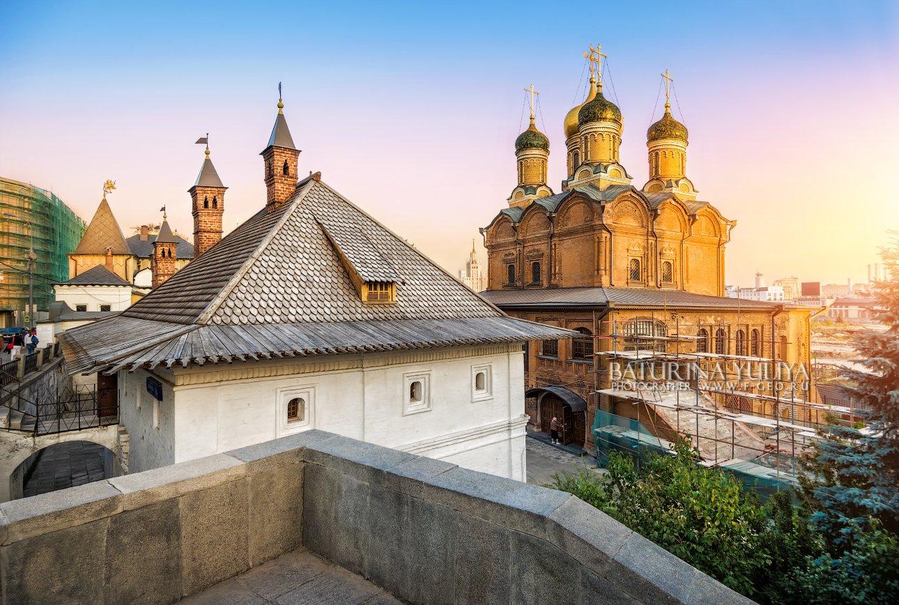 москва, варварка, храм, знаменский монастырь, Юлия Батурина