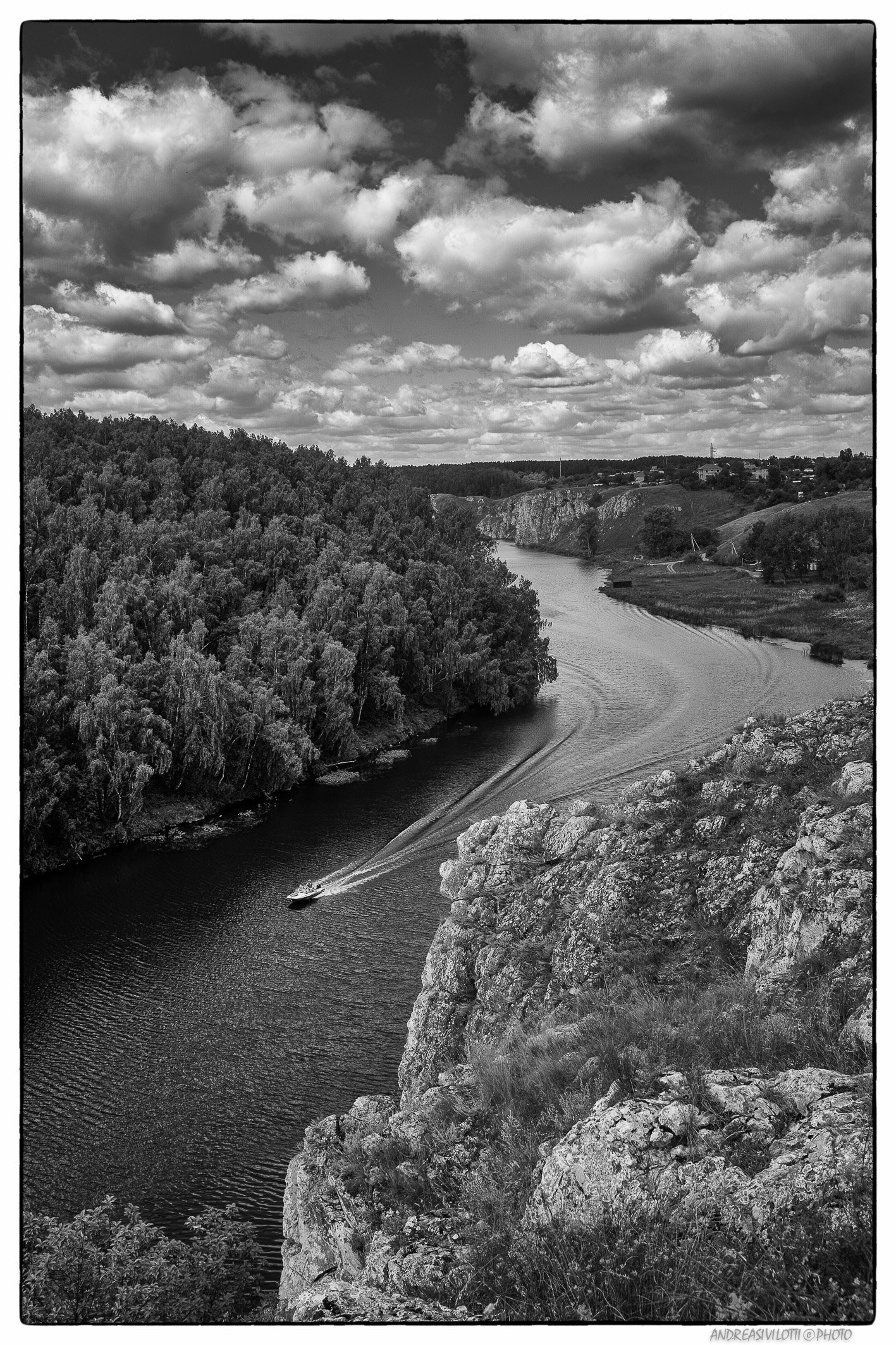 Black&White BW Nature River Photo Street Fujifilm Reportage Russia Story Live Coutry, Андреа Сивилотти