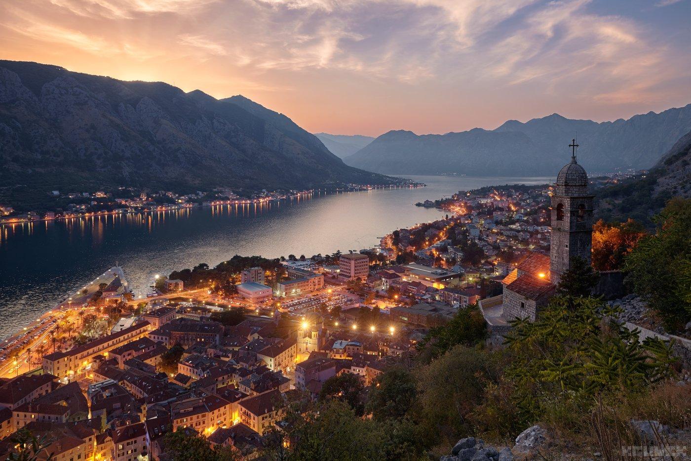 черногория, котор, адриатика, горы, KrubeK