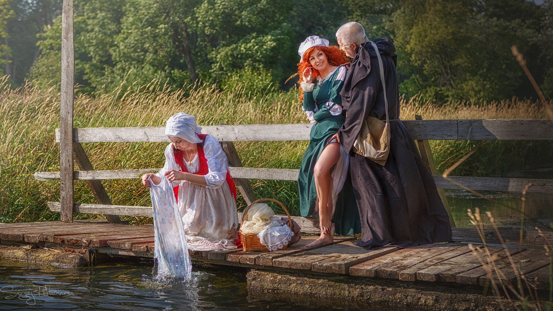 прачка, стирка, река, лето, рехов, сергейрехов, rekhov, sergejrekhov, Сергей Рехов