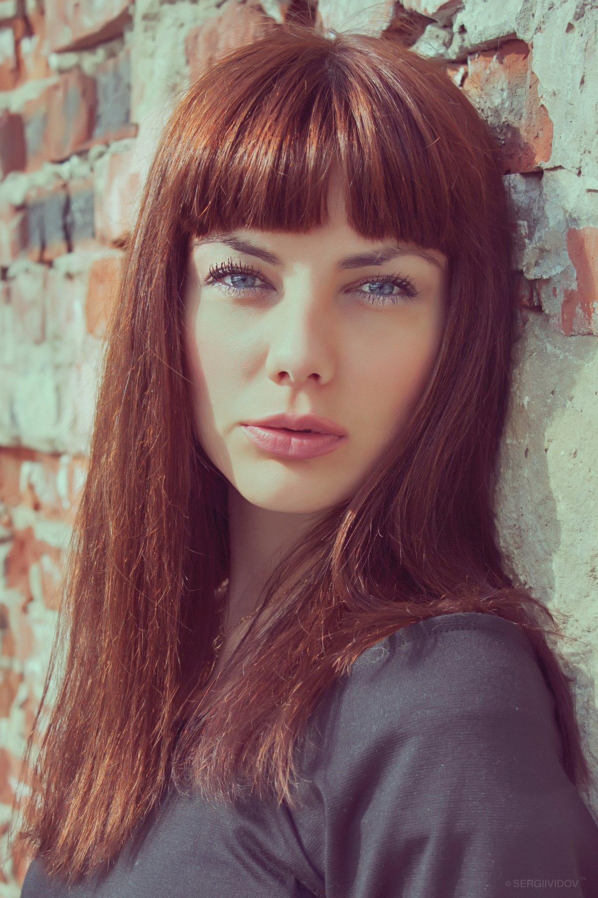 девочка, портрет, лето, Sergii Vidov
