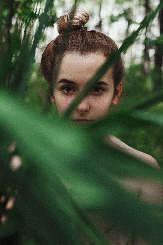 девушка, портрет, Иван Копченов