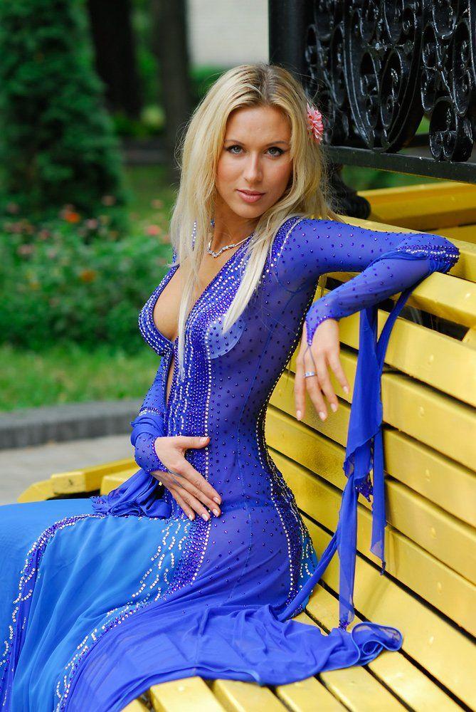 девушукв, платье, бальное, портрет, блондинка, сваровски, Дмитрий Деревянко