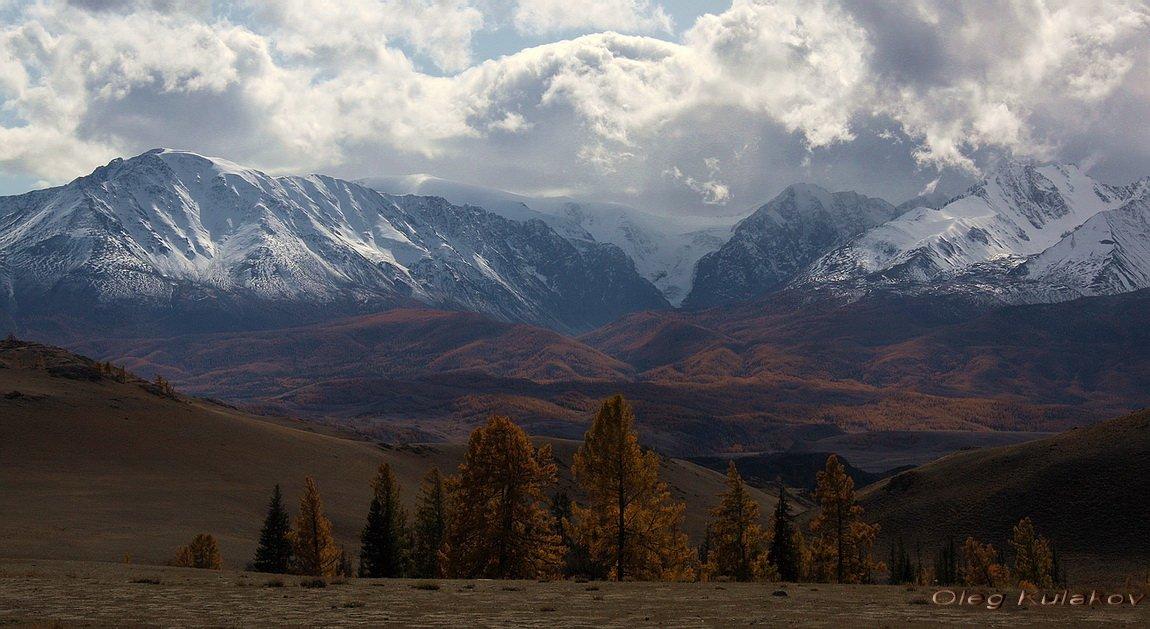 северо-чуйский хребет,горный алтай,алтай,горы,осень,сентябрь,олег кулаков,oleg kulakov, Олег Кулаков