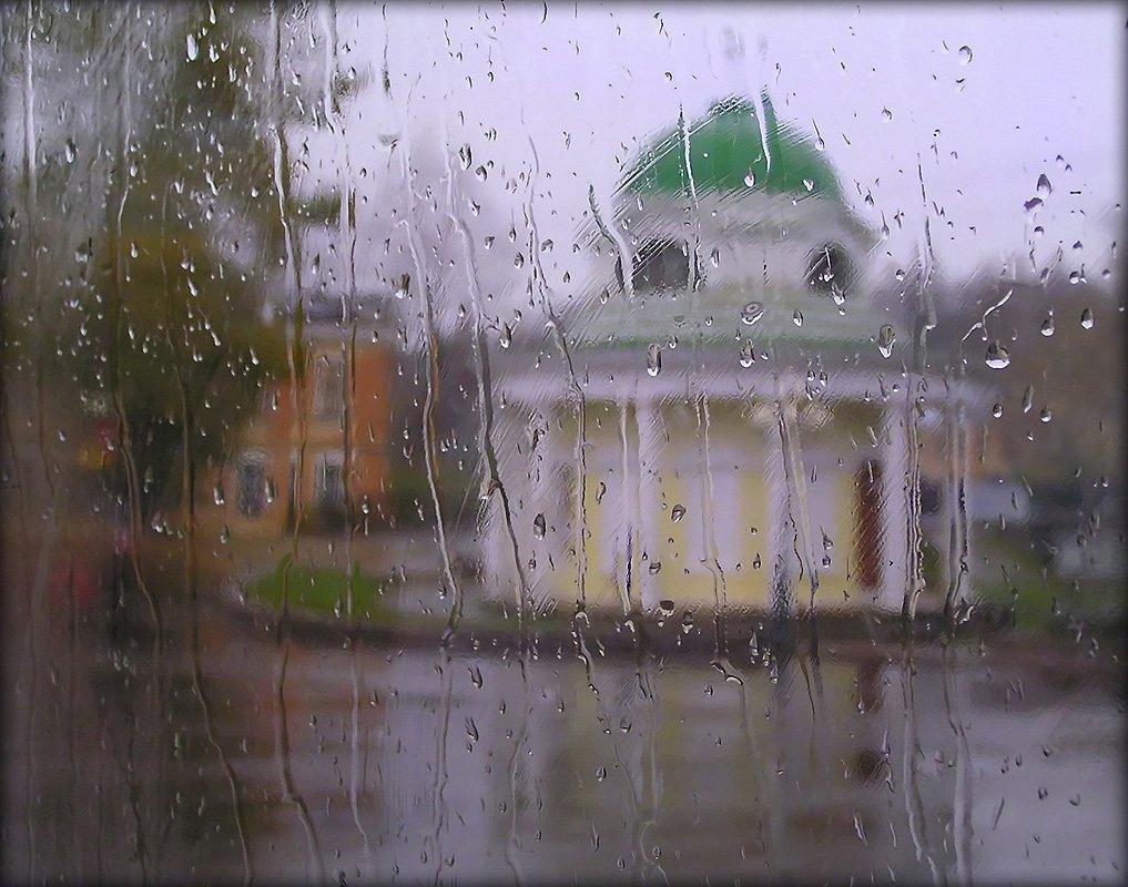 пейзаж, , осень, дождь, Зоя Лаптева