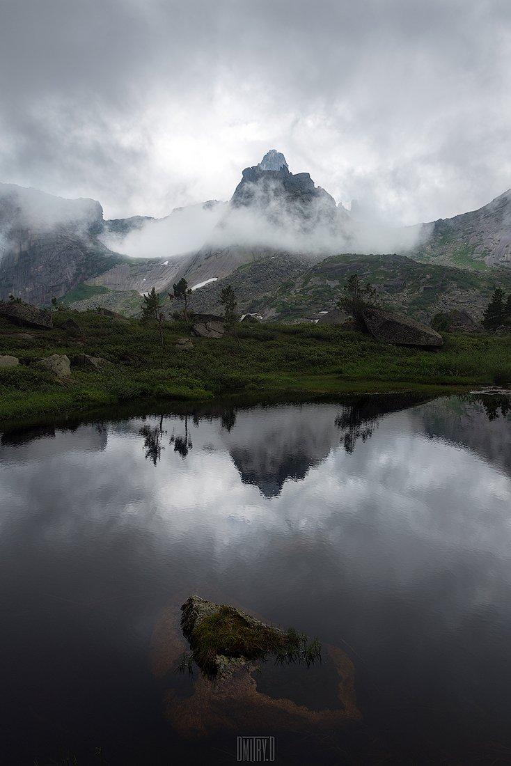 ергаки, пейзаж, горы, россия, облака,, Дмитрий Доронин