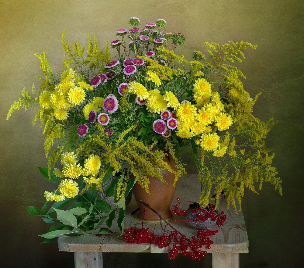 Цветы осени Вера Павлухина