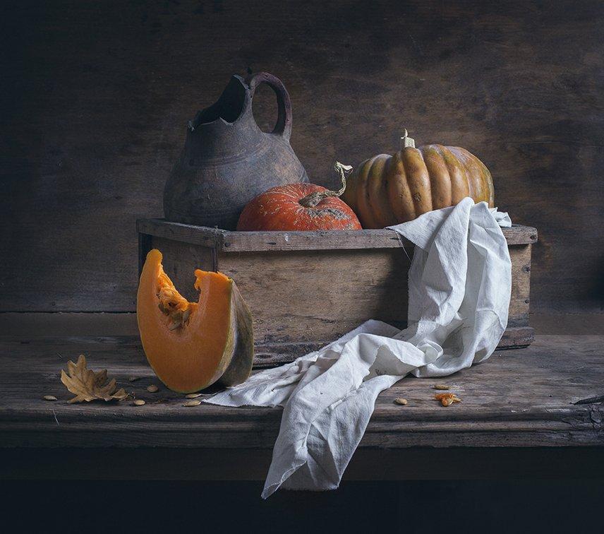 натюрморт,still life, тыква, Евгений Корниенко