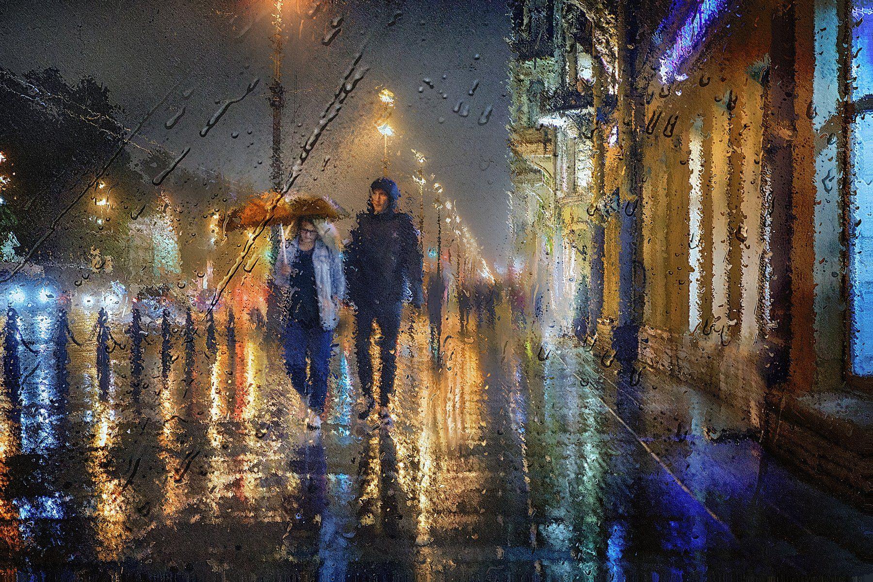 питер, невский проспект, дождь, прогулка, рехов, сергейрехов, rekhov, sergejrekhov, Сергей Рехов