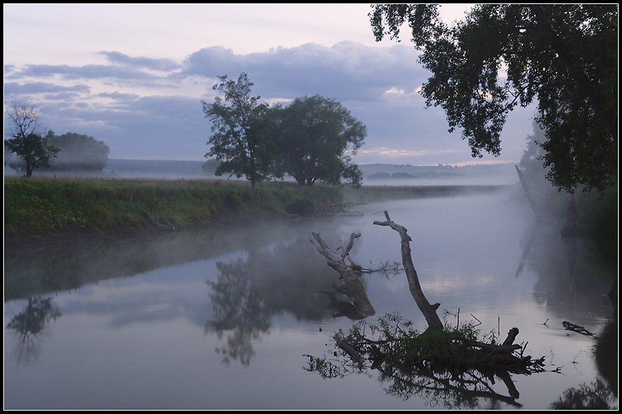 река, дёма, башкирия, туман, Степанов Сергей