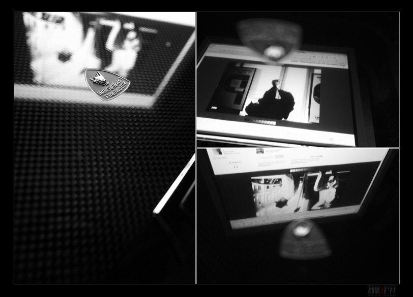 black, and, white, абстрактное, отражения, зеркало, зеркальность, поверхость, взгляда, koniae'ff