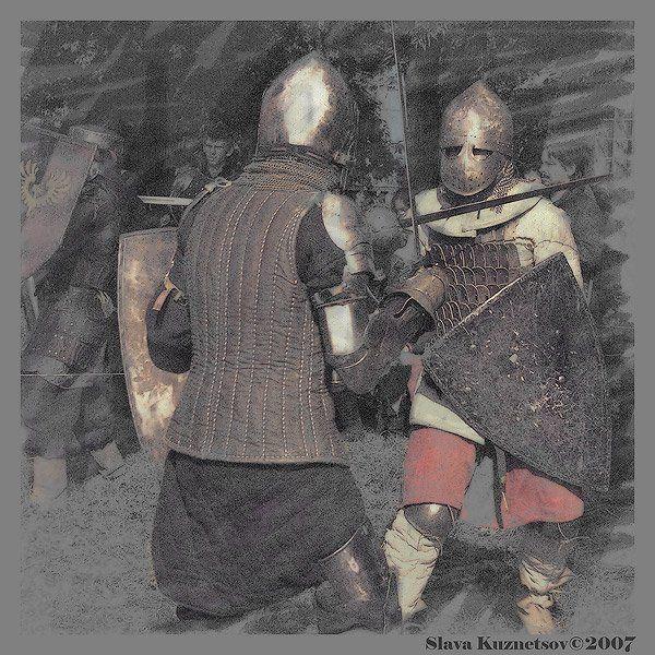 рыцари, турнир, SlavaKuznetsov