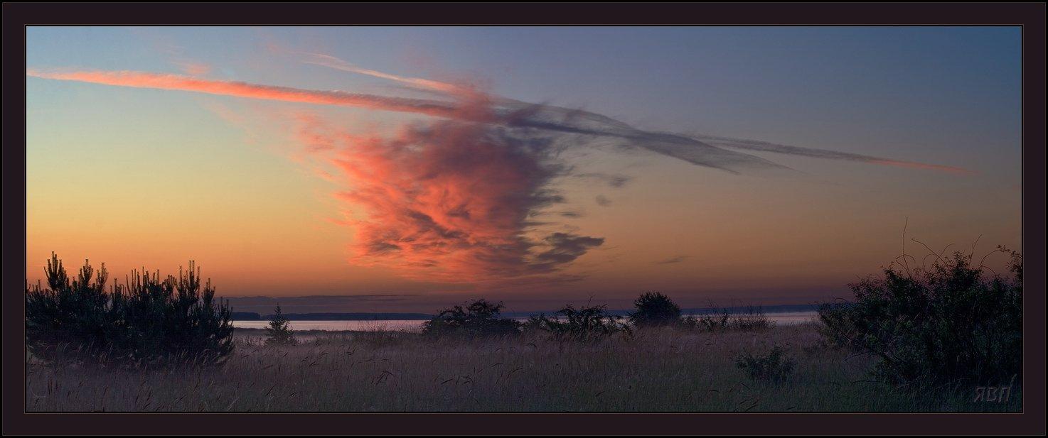 утро, восход, облака, небо, Виталий из Н-ска