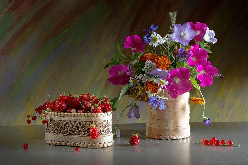 лето, цветы, still-life, Melentev
