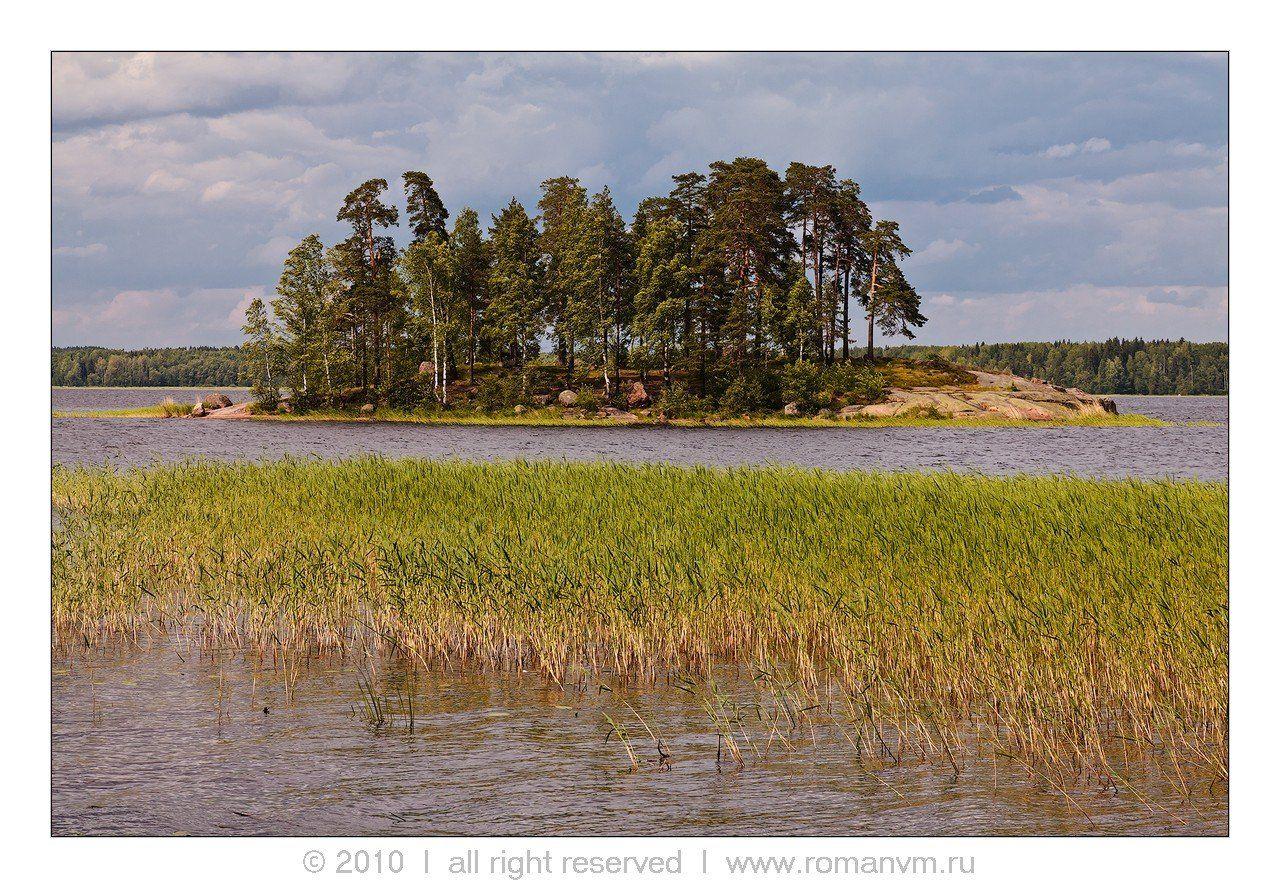 финский залив, выборг, парк монрепо, пейзаж, остров, Роман Мурушкин