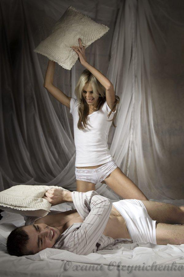 пара, любовь, игра, постель, мужчина, женщина, Оксана