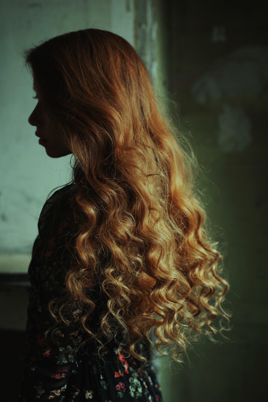 carolinemadison, portrait, beauty, redhair, redhead, portraiture, curlyhair,  lips, emotion, longhair, Caroline Madison