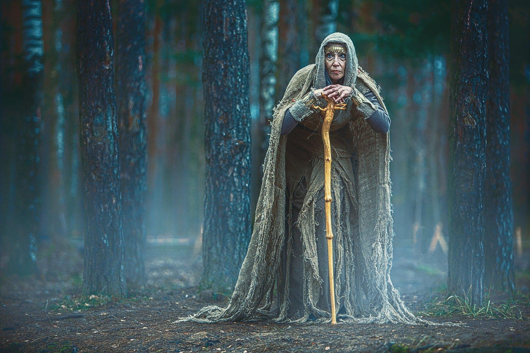ведьма, фэнтази, лес, дым, рехов, сергейрехов, Сергей Рехов