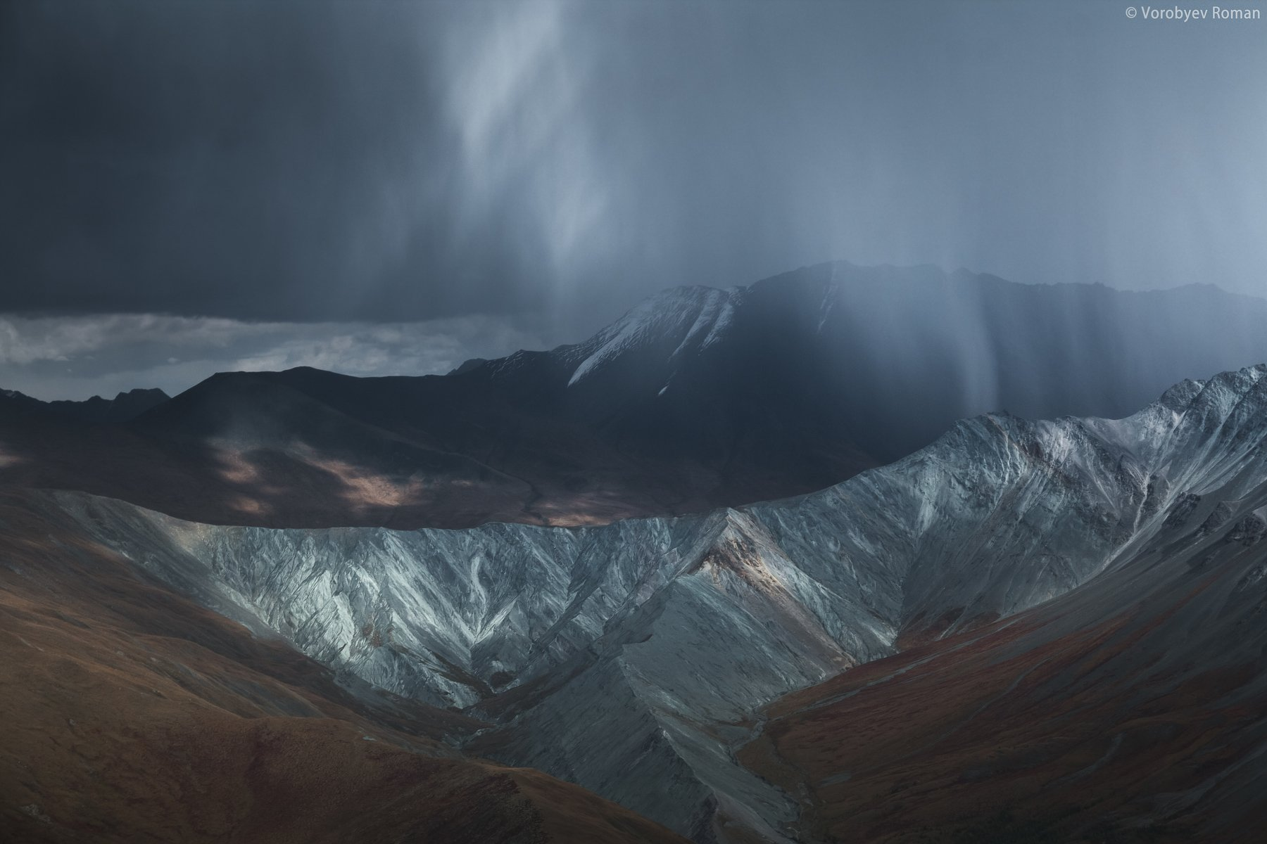 алтай, горы, снег, горный алтай, осень,, Roman Vorobyev
