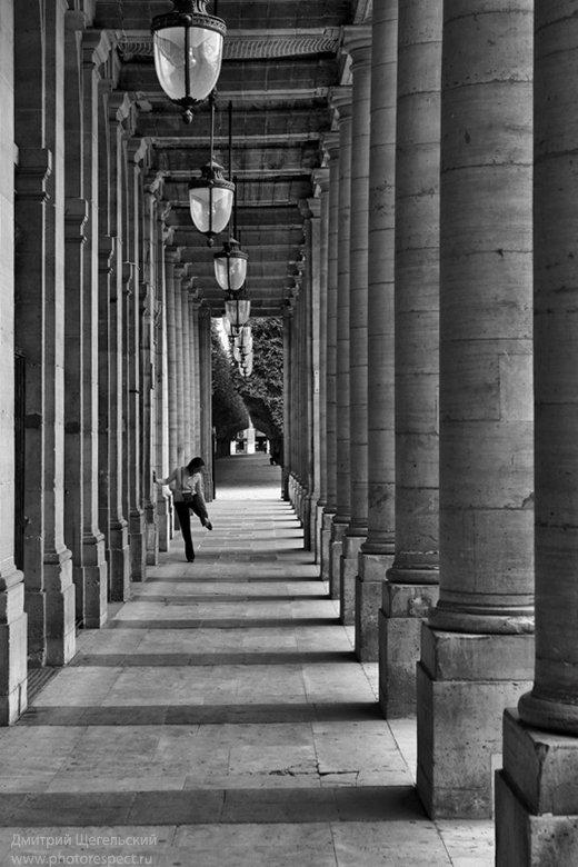 париж, колоннада, дворец, ришелье, Дмитрий Щегельский