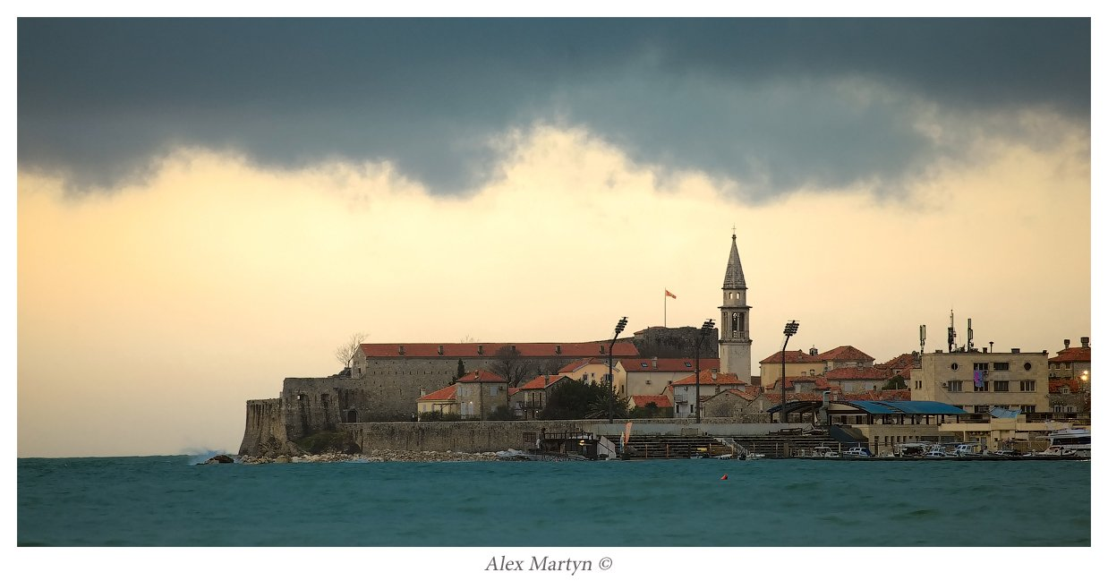 черногория, бухта, старый город, будва, Alexander Martynov