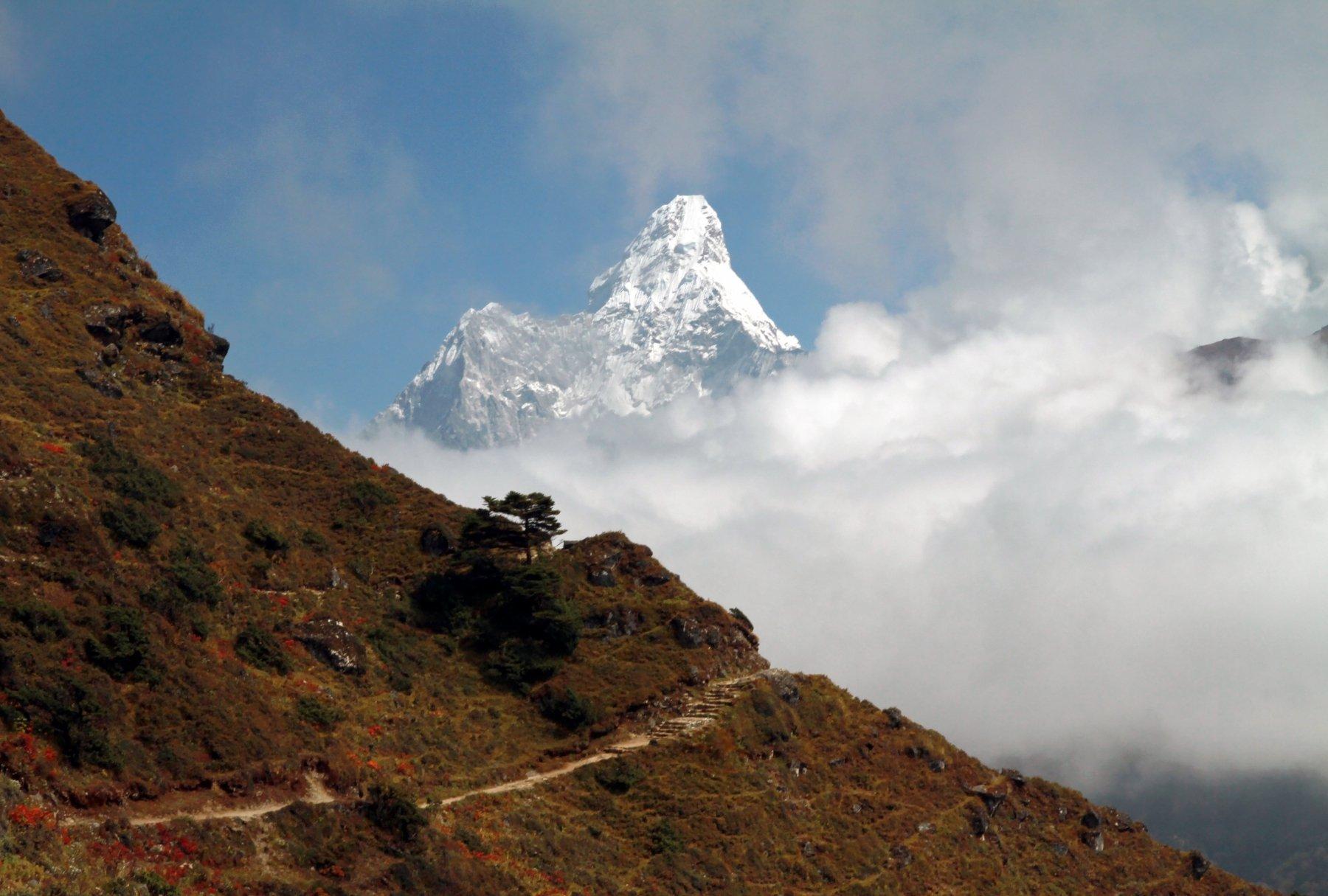 Непал, Гималаи, Ама Даблам., Ekaterina Velichko