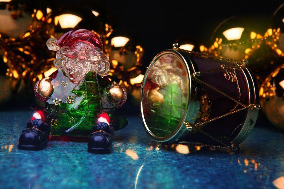 new year,2018,santa claus,christmas,yellow dog,magic day,happy,, Александр Горлов