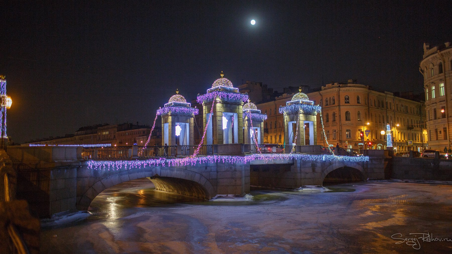 питер, санкт-петербург, ночь, зима, мороз, рехов, сергейрехов, Сергей Рехов