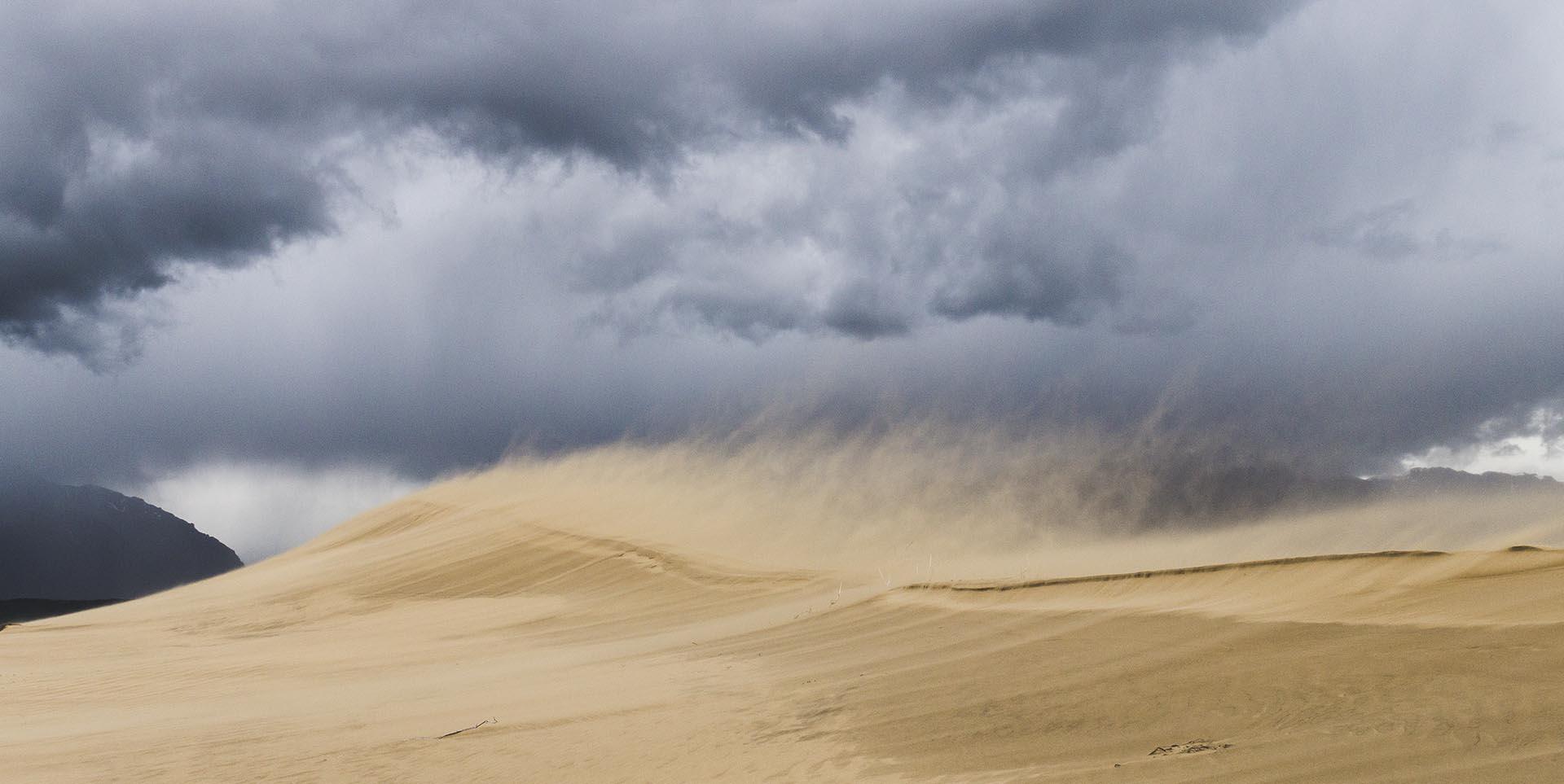 песчаная буря, Сергей