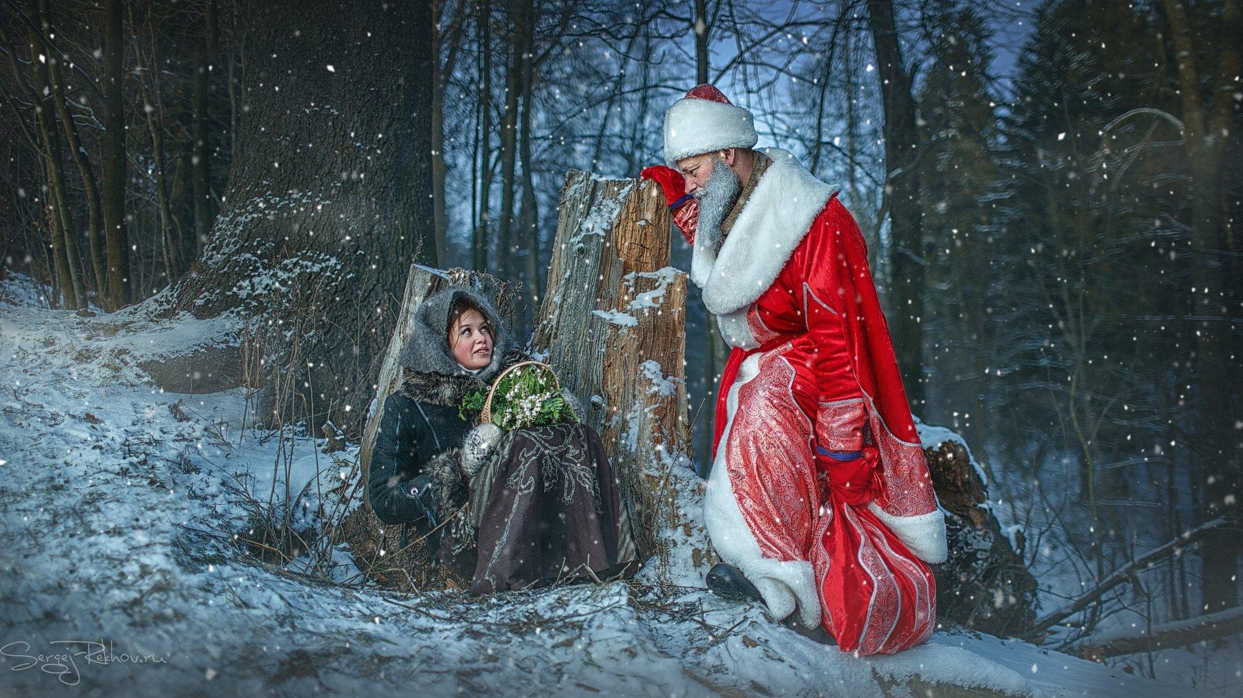 новый год, рождество, сказка. лес, мороз, снег, рехов, сергейрехов, rekhov, sergejrekhov, Сергей Рехов