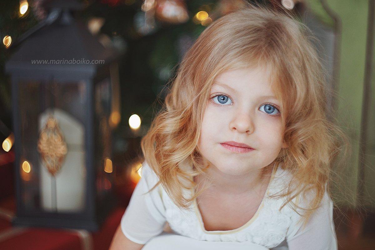 portrait, портрет, девочка, girl, глаза, eyes, голубой, blue, волосы, hair, фото, фотография, photo, photography, крупный план, Марина Бойко